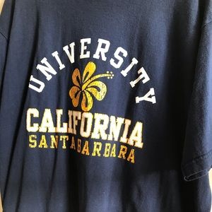 XL UCSB T-shirt in Blue and Gold